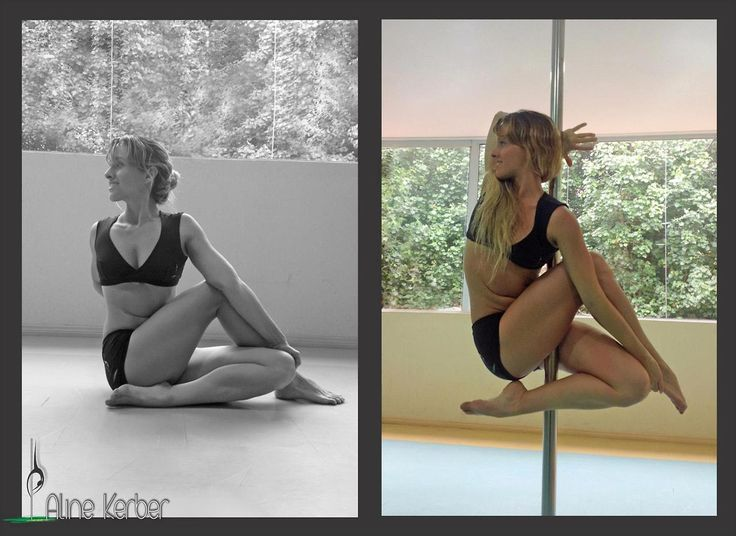 Pole Fiend - vertical yoga @Elizabeth Lockhart Lockhart Ann ok this too
