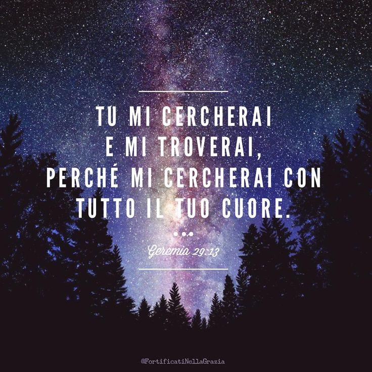 Geremia 29:13 --- @FortificatiNellaGrazia www.facebook.com/FortificatiNellaGrazia/