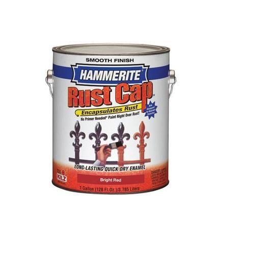 Hammerite Rust Cap 46210 Rust Preventative Paint, Gallon