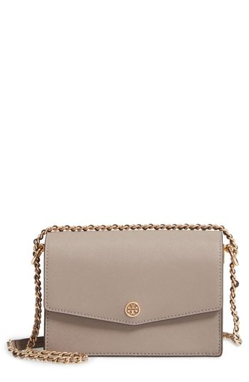5d3034fdcee Tory Burch Mini Robinson Convertible Leather Shoulder Bag in 2019 ...