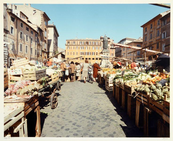 Roma,  Campo dei Fiori, 1990