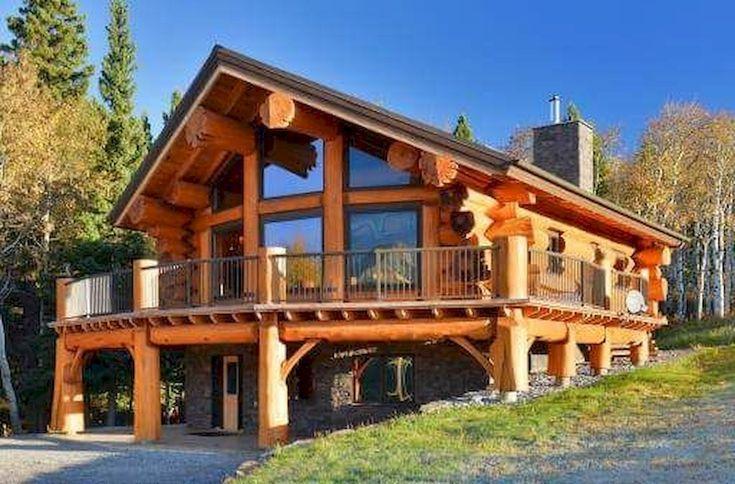 75 Great Log Cabin Homes Plans Design Ideas