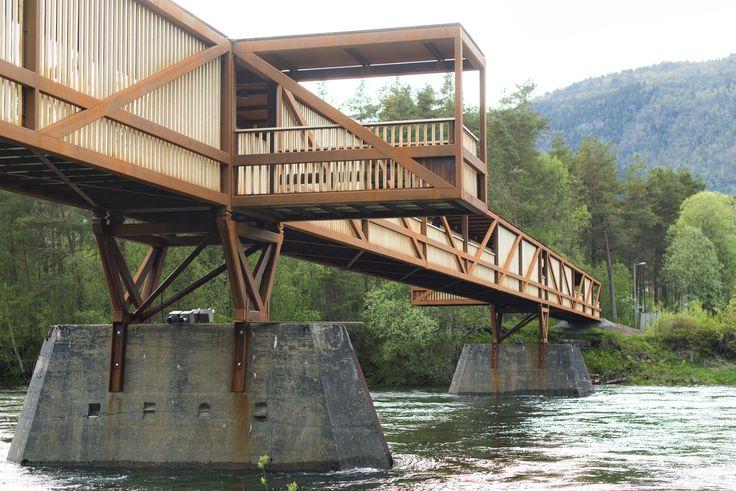 Gallery of Tintra Footbridge / Rintala Eggertsson Architects - 2