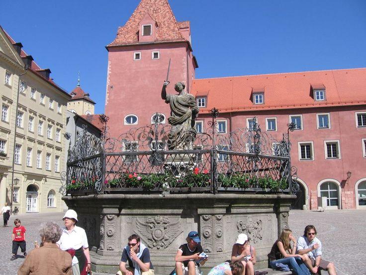 Regensburg, Haidplatz,