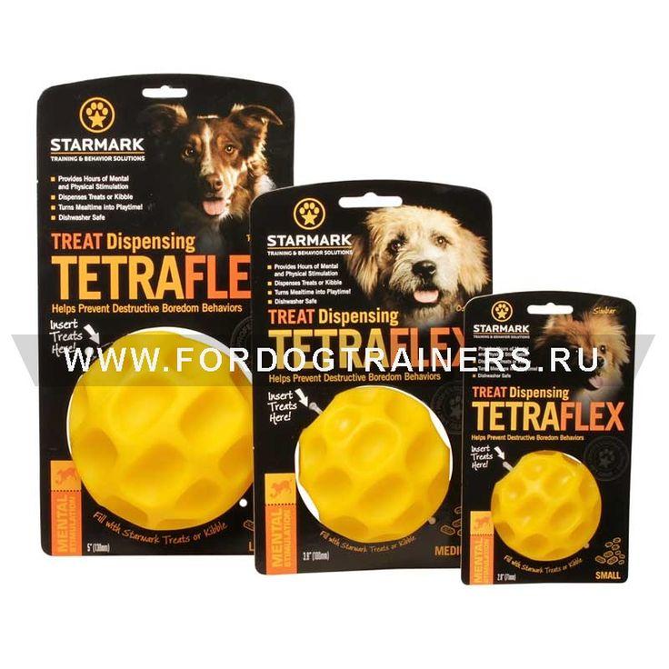 Мяч кормушка для собак из прочной резины - TT21 -> 929.06 руб.