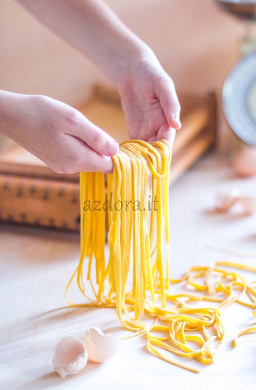 Azdora - итальянская кухня по-русски - Домашняя паста ручной работы - Урок 2. Синьора Тальятелла