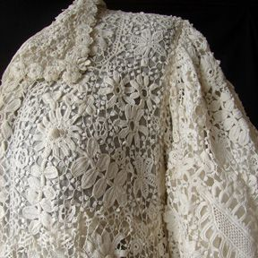 Maria Niforos - Fine Antique Lace, Linens & Textiles : Antique Edwardian & Victorian Clothing