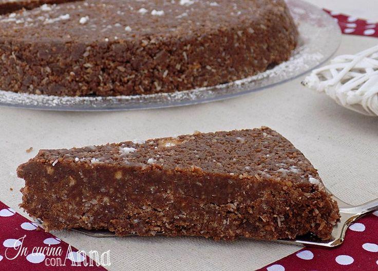 Torta tartufina senza forno