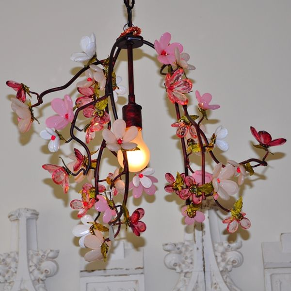 Elegant Floral Bouquet Chandelier By Rachel Ashwell Shabby Chic Couture Beautiful Good Ideas