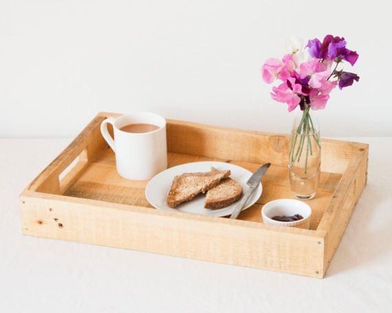 Wooden Serving Platter / Tea Tray by PalletablesUK on Etsy