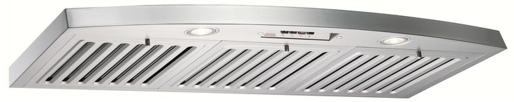 Kobe RA2836SQB-1 750 CFM 36 inch Stainless Steel Under Cabinet Range Hood with Q Stainless Steel Range Hood Under Cabinet