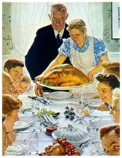 norman rockwell thanksgiving - Google Search