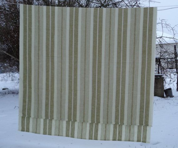 Scandinavian Vintage Large Tablecloth / Curtain by OLaLaVintage