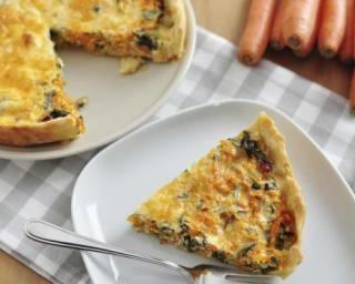 Quiche minceur carottes, épinards et fromage frais 0% : http://www.fourchette-et-bikini.fr/recettes/recettes-minceur/quiche-minceur-carottes-epinards-et-fromage-frais-0.html