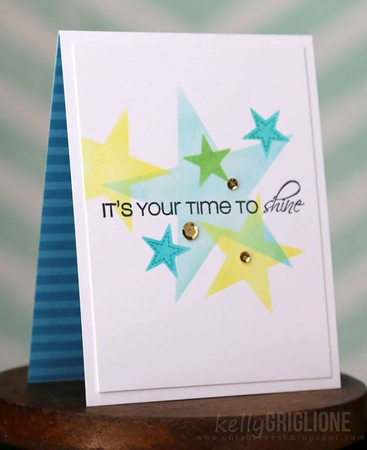 Kelly created this wonderful card using CAS-ual Fridays Stamps: Twinkle  www.cas-ualfridaysstamps.com  #casfridays #stars #twinkle #cards