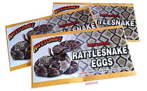 Rattlesnake eggs prank envelope downloads