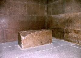 "This Sarcophagus which is found in the Great Pyramid at Giza is made from ""Red Aswan Granite"".  http://stoneaction.net #ThrowBackThursday   #TBT   #StoneAction"