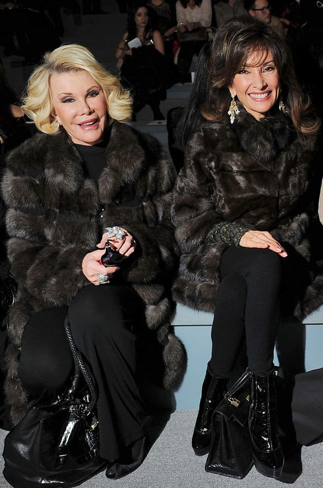 Susan Lucci from Joan Rivers' Famous Friends | E! Online