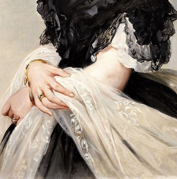 Portrait of Princess Louise by Albert Graefle,1864
