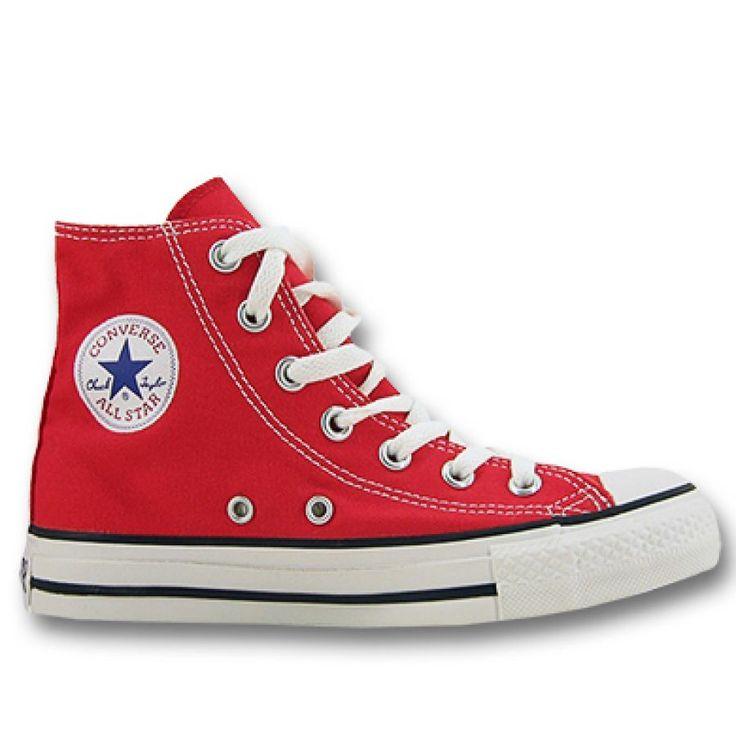 CONVERSE Girls Mini Buty Trampki Sneaker Chucks AS CORE high red | PinkOrBlue.pl