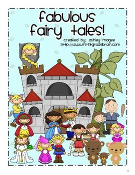 FREE from Mrs. Magee on TpT. Fabulous Fairy Tales is an 87 page unit that provides writing, math, science, and literacy activities for 10 popular fairy tales. The ten fairy tal...