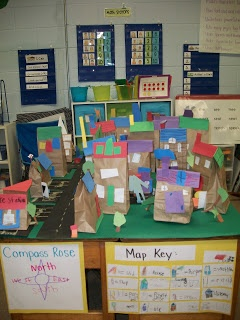 Once Upon a First Grade Adventure: Social Studies  3D Map