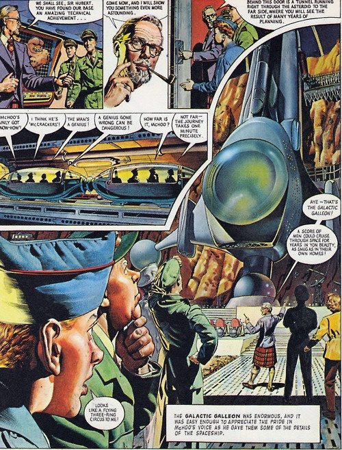 The Galactic Galleon - 1974 Dan Dare