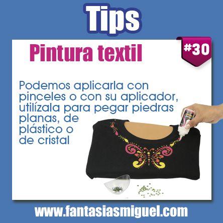 Tips para pintura Textil