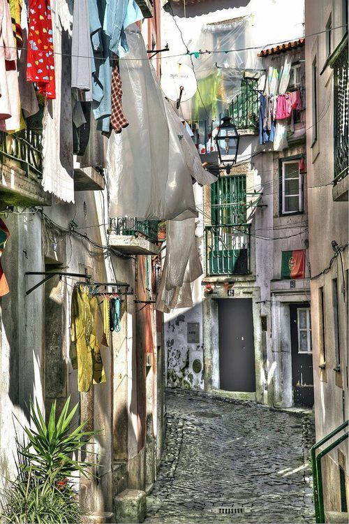 Lisboa, Lisbon, Portugal. From the charming part called Alfama.