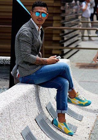 デニムパンツ(ジーンズ)の着こなし・コーディネート一覧【メンズ】 | Italy Web