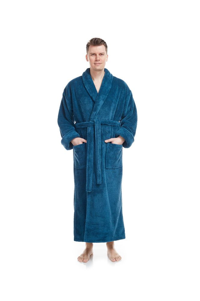 bfbb45b988 ARUS MEN S LONG PLUSH SOFT BATHROBE SHAWL COLLAR TURKISH ROBE  fashion   clothing  shoes  accessories  mensclothing  sleepwearrobes (ebay link)