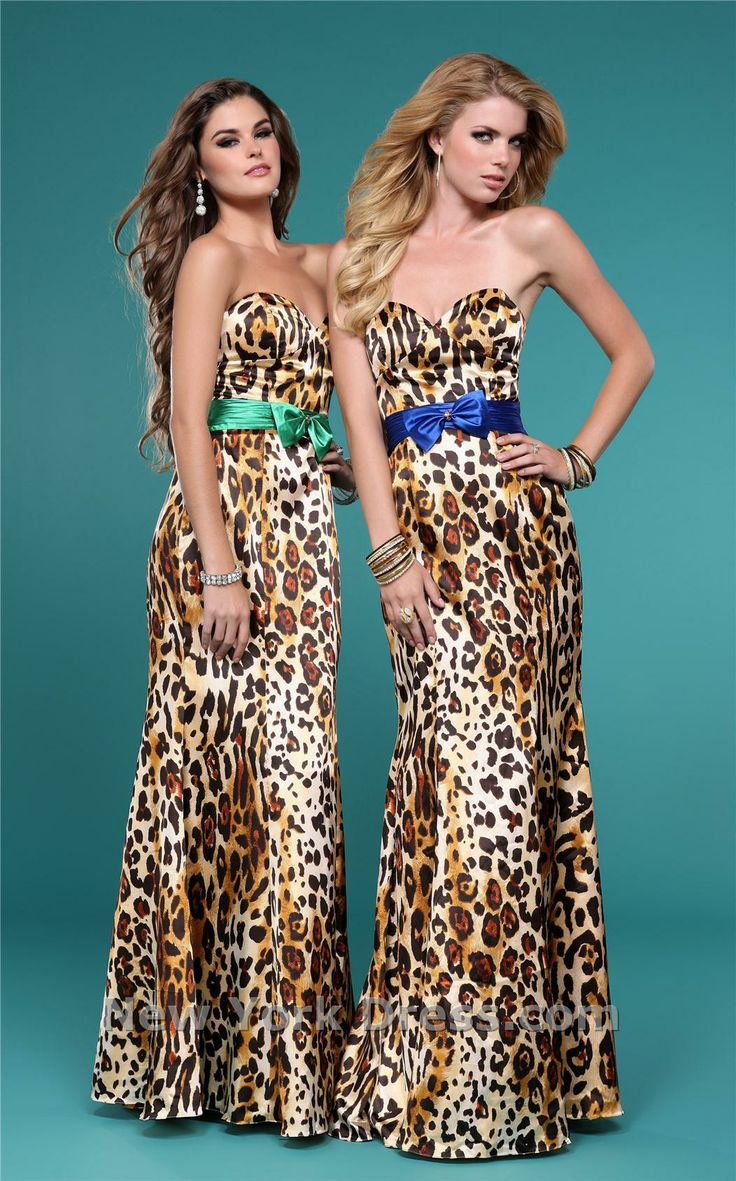 67 best lavishly leopard images on pinterest leopard print leopard bridesmaids with a pop of color ombrellifo Image collections
