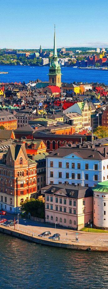 Stockholm, Sweden is on my fiancé's list