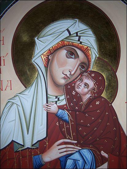 icona sant'Anna e Maria- per mano di I. Polverari