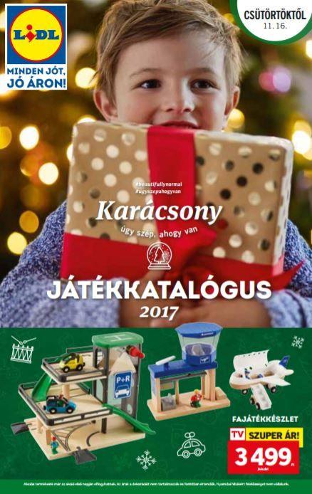 LIDL Karácsonyi Játékkatalógus 2017: Sok-sok karácsonyi játékötlet akciós áron ebben a 16 oldalas Lidl ünnepi játékkatalógusban!