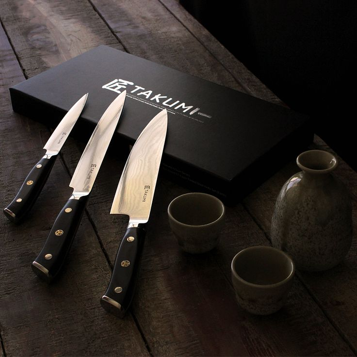 Takumi 67-layer folded Knives are just what every kitchen needs.