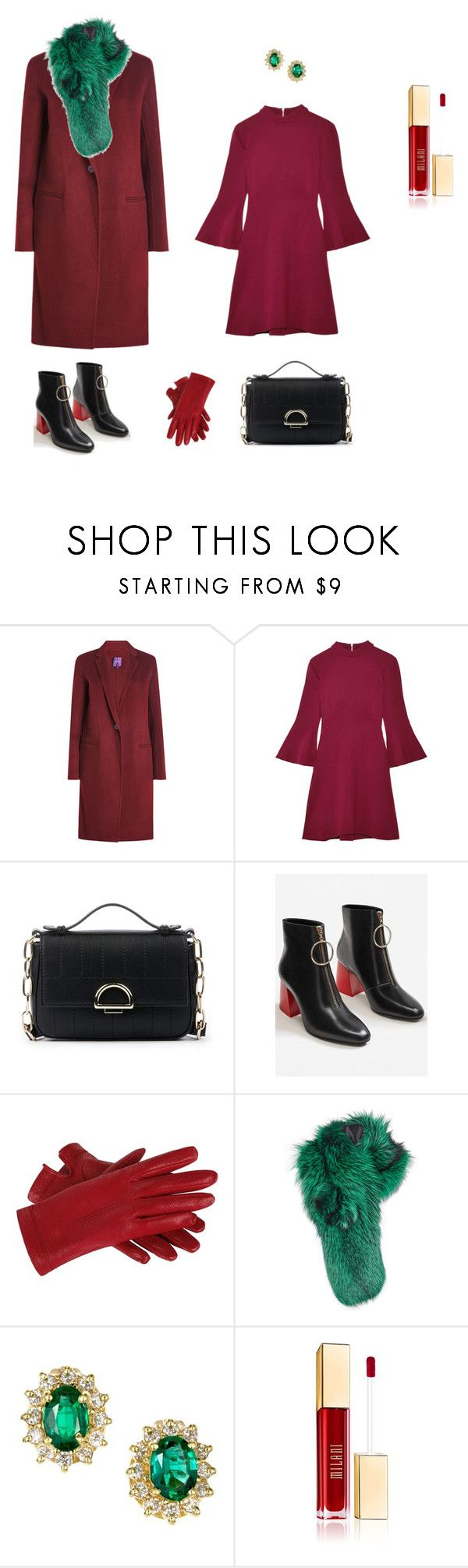 """Образ для броши с матрешкой"" by lerobe on Polyvore featuring мода, Theory, Rachel Zoe, Sole Society, MANGO и Lilly e Violetta"