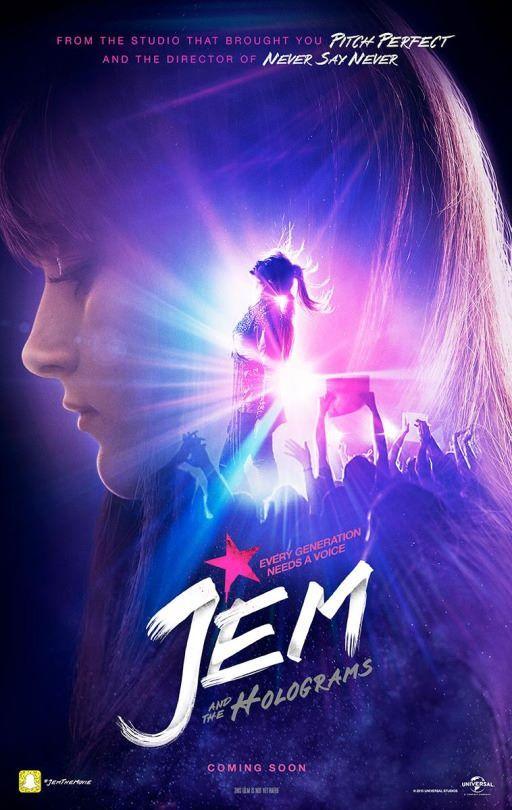 #JemAndTheHologram il trailer... :)