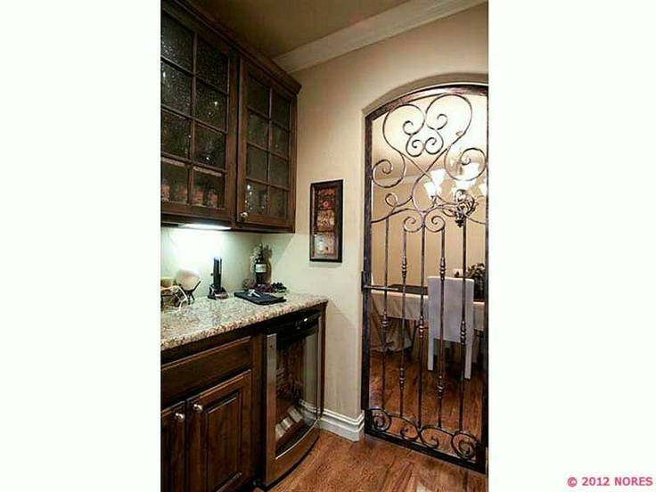 The Door Is A Fun Idea To Get From Kitchen Dining Room