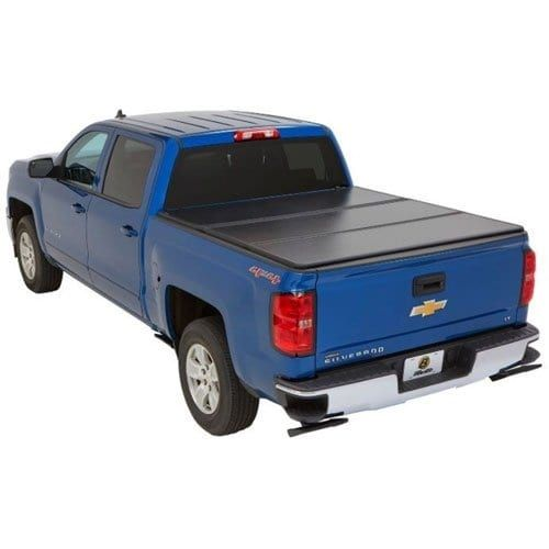 Bestop 16212-01 EZ Fold Truck Tonneau Cover for Chevy Silver