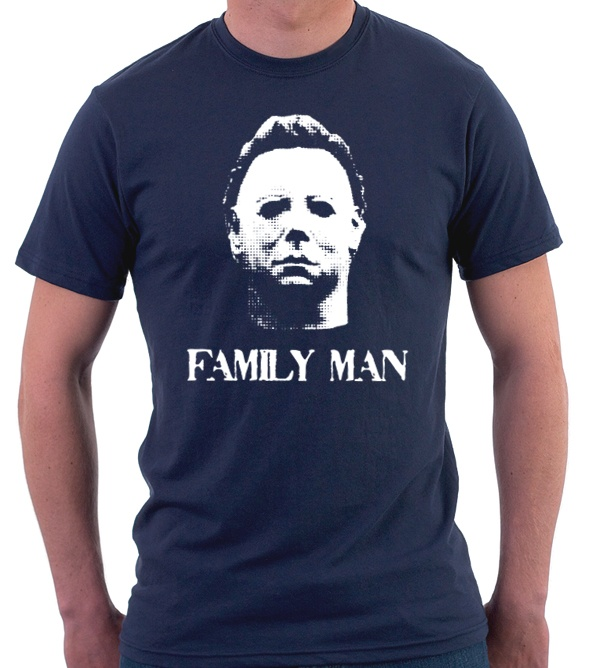 """Michael Myers """"Family Man"""" tshirt from The Fine Print"""