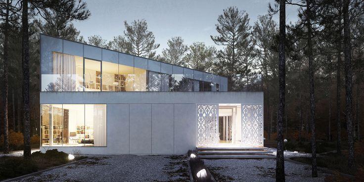 J HOUSE architecture by KOOPERATYWWA arch. Michał Brzychcy