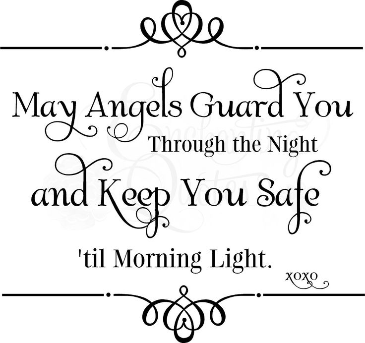 May Angels Guard You - Baby Quotes