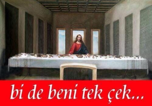 Hz. İsa. Son yemek.