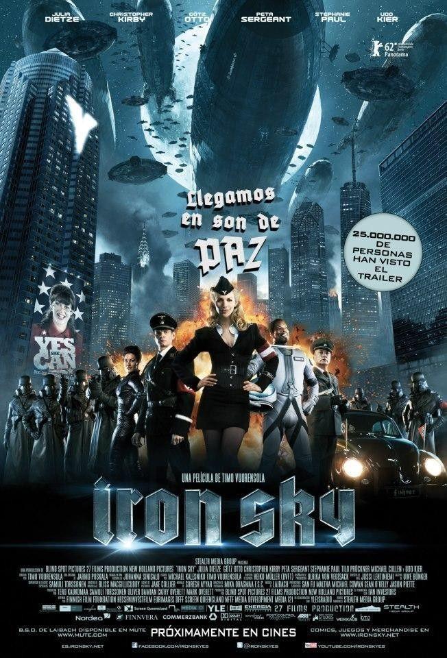 Iron Sky (2012) - Ver Películas Online Gratis - Ver Iron Sky Online Gratis #IronSky - http://mwfo.pro/1821358