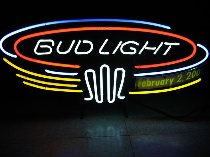 Bud Light Neon Sign Real Neon Light