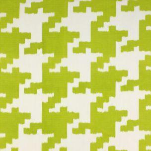 Le tissu Lina de Canovas : Un pied de poule démesuré et décliné dans des couleurs vives. Il surprend et s'associe étonnement bien avec des tissus à mo...