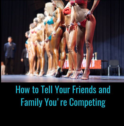 When you commit to competing in a bodybuilding contest, you know it's going to be hard work in the gym, and in the kitchen. What you may not consider are all t