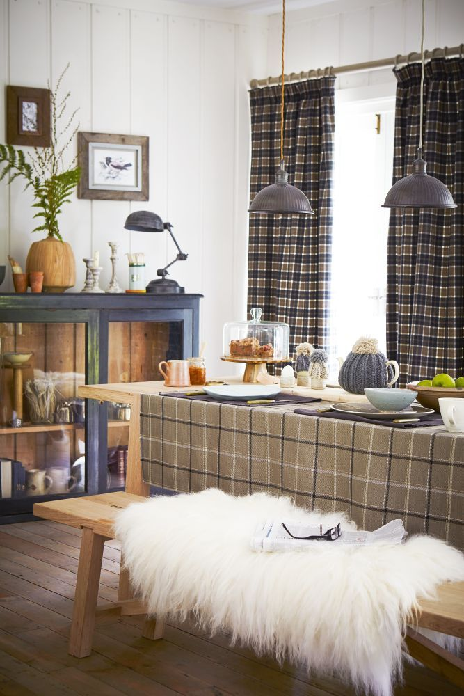 Team Curtains Teamcurtainscom: Use A Plaid Wool Fabric For Extra-warm Curtains And Team