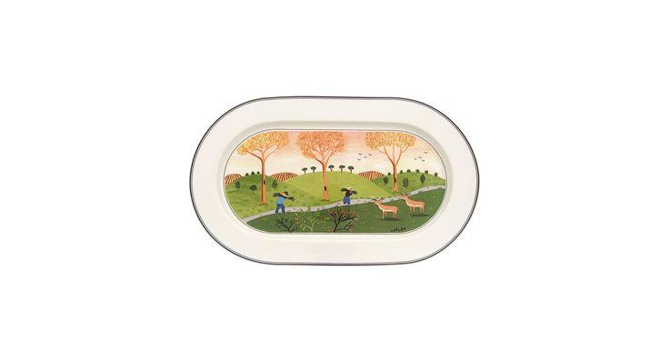 Villeroy & Boch Dinnerware, Design Naif Oval Platter